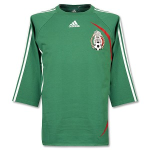 08-09 Mexico Home Shirt Arm
