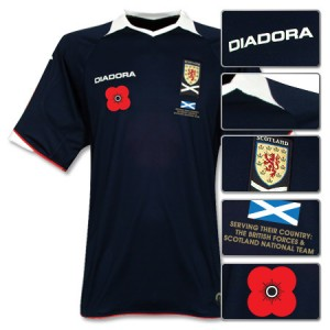 08-09 Scotland Home Shirt