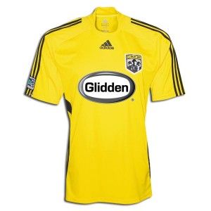 09-10 Columbus Crew Away Shirt