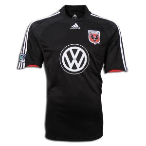 09-10 DC United Home Shirt