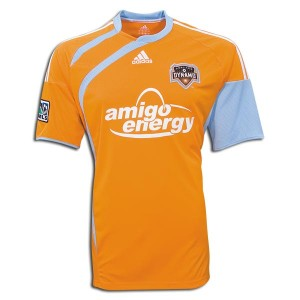 09-10 Houston Dynamos Home Shirt