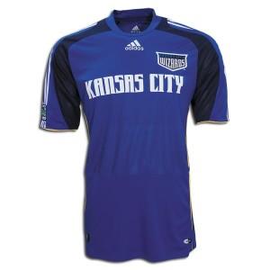 09-10 Kansas City Wizards Home Shirt