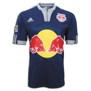 09-10 New York Red Bulls Away Shirt