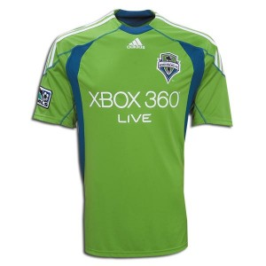 09-10 Seattle Sounders Home Shirt