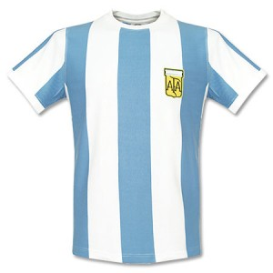 1978 Argentina Home Retro Shirt