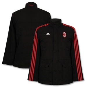 08-09 AC Milan Essential Long Jacket Black