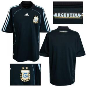 08-09 Argentina Away Shirt