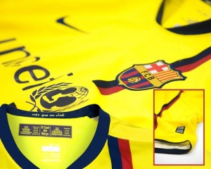 08-09 Barcelona Away Shirt