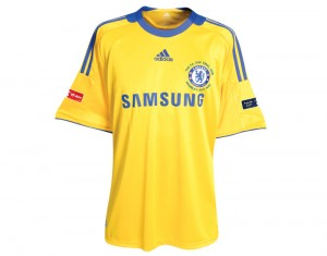 08-09 Chelsea Third Shirt With FA Cup Final Embroidery And FA Cup Final Badge