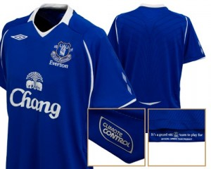 08-09 Everton Home Shirt