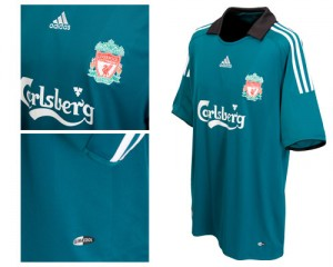 08-09 Liverpool Third Shirt