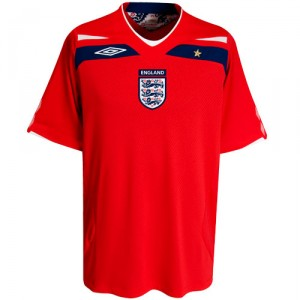 08-10 England Away Shirt