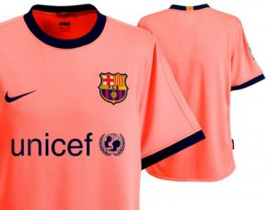 09-10 Barcelona Away Shirt