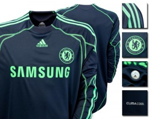 09-10 Chelsea Away Goalkeeper Shirt