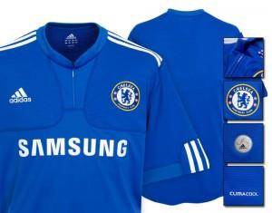 09-10 Chelsea Home Shirt