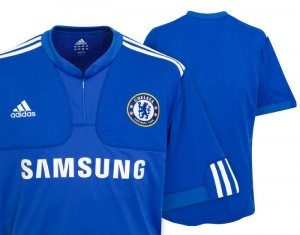 09-10 Chelsea Home Shirt Kids