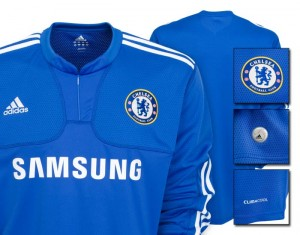 09-10 Chelsea Home Shirt Long Sleeve