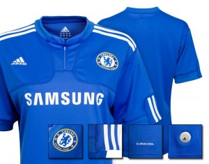 09-10 Chelsea Home Shirt Womens