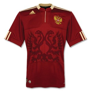 09-10 Russia Away Shirt