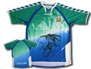 09-10 Sierra Leone Home Shirt