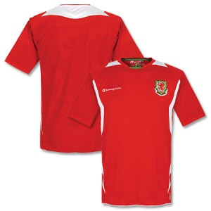 09-10 Wales Home Shirt