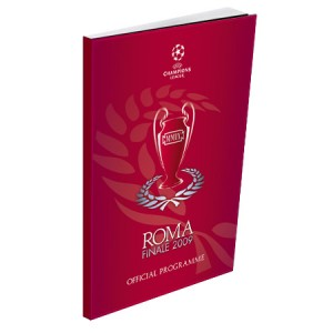 2009 Champions League Final Official Programme