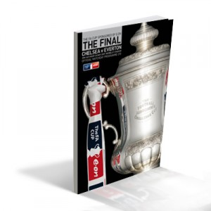 2009 FA Cup Final Programme Chelsea vs. Everton