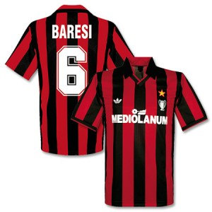 Adidas Originals 90-91 AC Milan Cup Winners Shirt Baresi 6