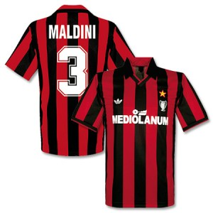 Adidas Originals 90-91 AC Milan Cup Winners Shirt Maldini 3