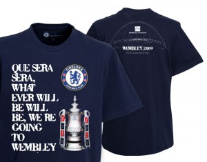 Chelsea FA Cup Final 2009 T-Shirt Navy