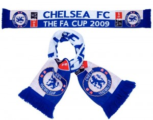 Chelsea FA Cup Final Scarf 2009