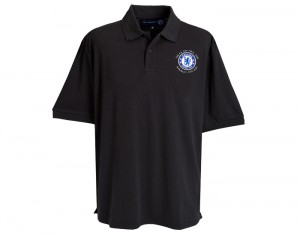 Chelsea Polo Shirt With FA Cup Final Embroidery Black