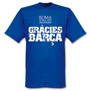 Gracies Barca Finale T-Shirt Blue