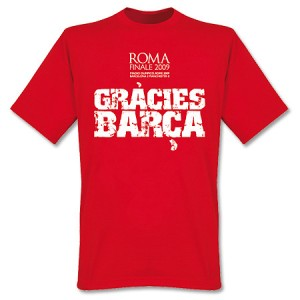 Gracies Barca Finale T-Shirt Red