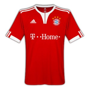 09-10 Bayern Munich Home Shirt