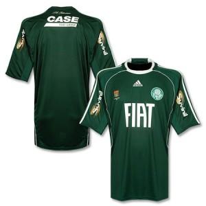 09-10 Palmeiras Home Shirt