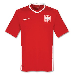 09-10 Poland Away Shirt