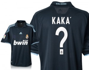 09-10 Real Madrid Away Shirt Kaka