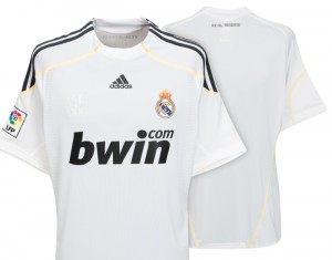 09-10 Real Madrid Home Shirt