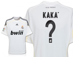09-10 Real Madrid Home Shirt Kaka