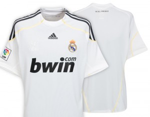 09-10 Real Madrid Home Shirt Kids