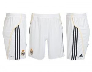 09-10 Real Madrid Home Short Kids
