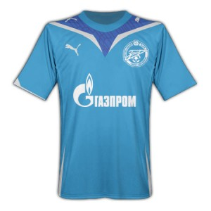 09-10 Zenit St Petersburg Away Shirt