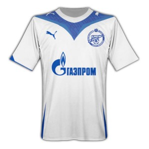 09-10 Zenit St Petersburg Home Shirt