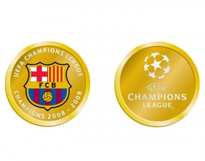 Barcelona Champions League 2009 Commemorative Coin