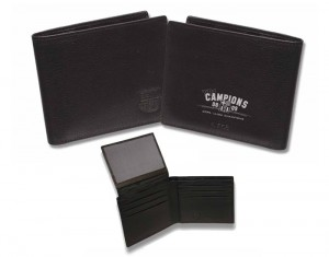 Barcelona Treble Champions American Wallet Black