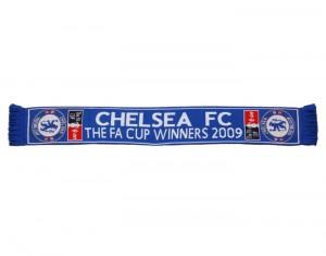 Chelsea FA Cup Winners Scarf 2009 Reflex Blue