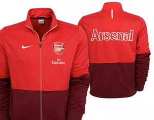 09-10 Arsenal Line Up Jacket