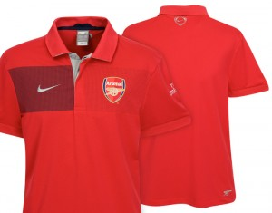 09-10 Arsenal Travel Polo Shirt