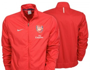 09-10 Arsenal Woven Warm Up Jacket